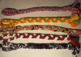 Fleece Dog Rope